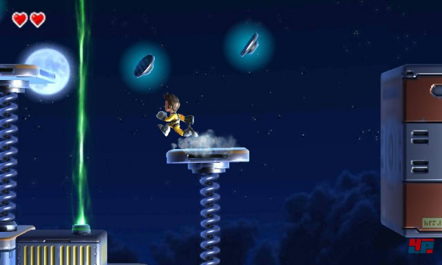 Screenshot - Jett Rocket II - The Wrath of Taikai (3DS)