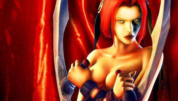 Rayne<br><br>Sie ist eine Halb-Vampirin. Sie trägt Klingen an ihren Armen, die Laserschwerter zerschnippeln könnten. Ihre High-Heels würden Bewohnerinnen der Hamburger Herbertstraße beschämen. Der Blut-Anteil macht die Hälfte der Grafik bei den BloodRayne-Games aus. Die andere Hälfte geht für ihre Möpse drauf. 1719477