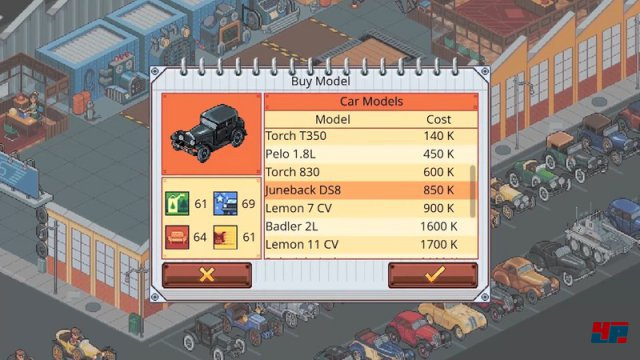 Screenshot - Epic Car Factory (Linux)