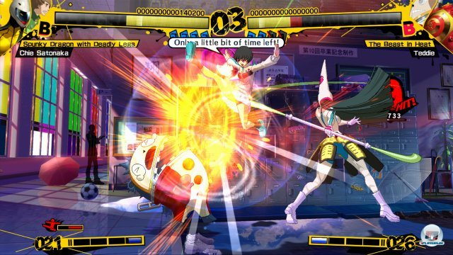 Screenshot - Persona 4: Arena (PlayStation3) 2370497