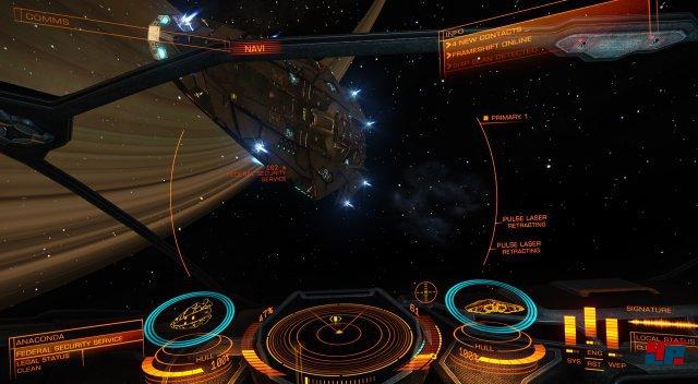 Ob große oder kleine Schiffe: Das Gefühl, im Cockpit zu sitzen, ist hervorragend.