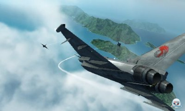 Screenshot - Ace Combat 3D (3DS) 2231007