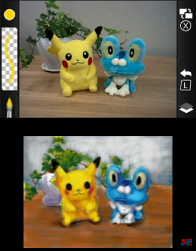 Screenshot - Pokémon Art Academy (3DS)