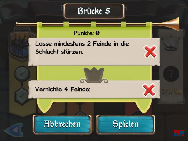 Screenshot - Bridge Constructor Mittelalter (iPad)
