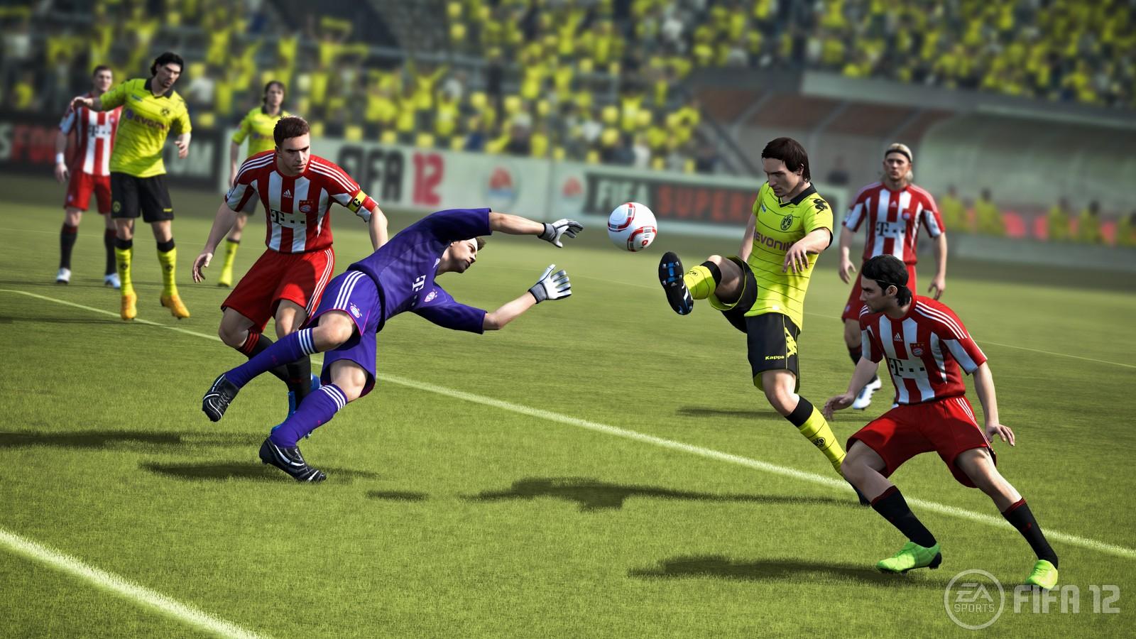 Der neue Cover-Star von FIFA 12: Mats Hummels - das passt zur Überarbeitung des defensiven Sielablaufs.