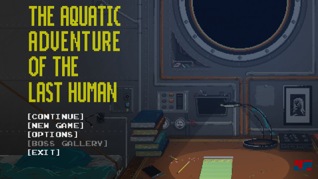 Screenshot - The Aquatic Adventure of the Last Human (Linux)