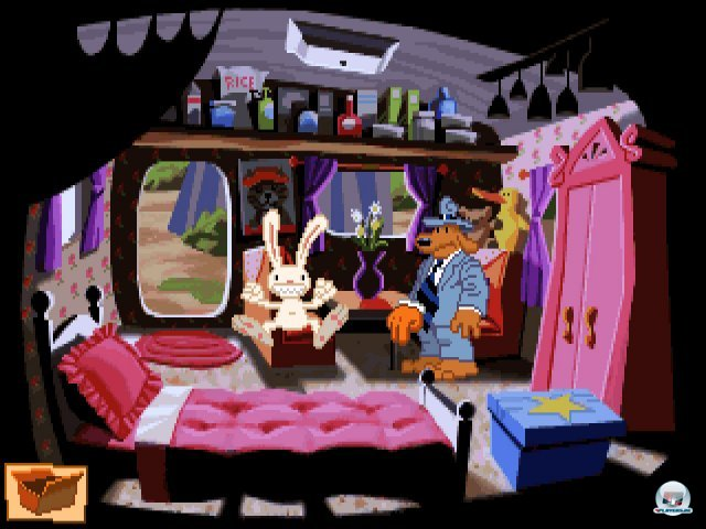 Screenshot - Sam & Max Hit the Road (PC) 92431682