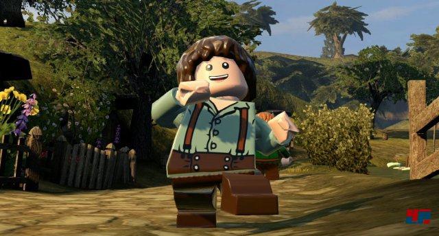 Nicht nur Charaktere aus Lego Der Herr der Ringe wurden recycelt, es wurden gleich ganze Landstriche wiederverwendet.