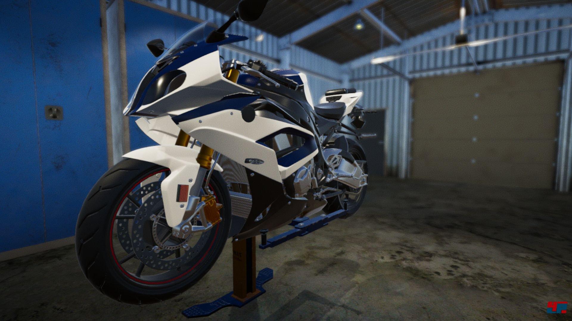 biker garage virtuelle motorrad werkstatt f r pc xbox. Black Bedroom Furniture Sets. Home Design Ideas