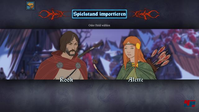 Wer ohne eigenen Spielstand beginnen will, hat die Wahl zwischen Rook oder Alette als Hauptcharakter.