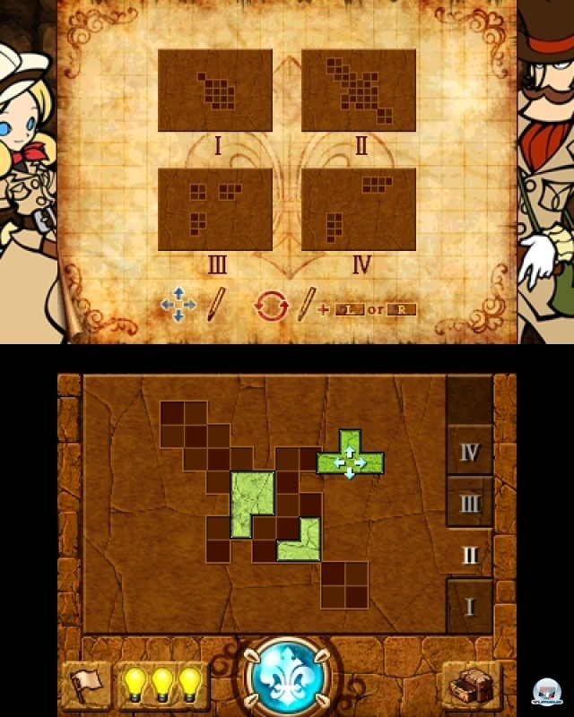 Screenshot - Doctor Lautrec and the Forgotten Knights (NDS) 2216923