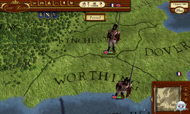 Screenshot - Napoleon's Campaigns 2 (PC)