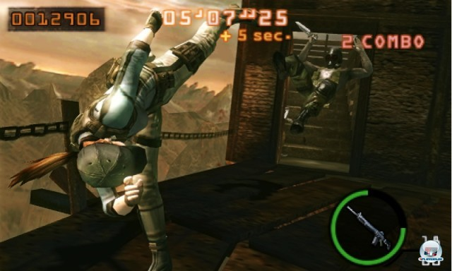 Screenshot - Resident Evil: The Mercenaries 3D (3DS) 2227462