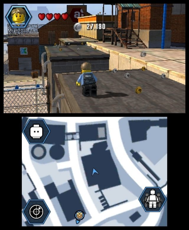 Screenshot - Lego City: Undercover (3DS) 92459492