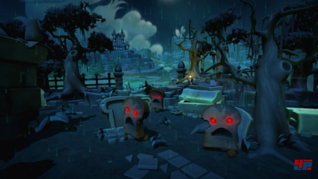 Der Story-Modus ist leider erneut nur eine Ansammlung von Leveln, ohne eine Geschichte zu erzählen.