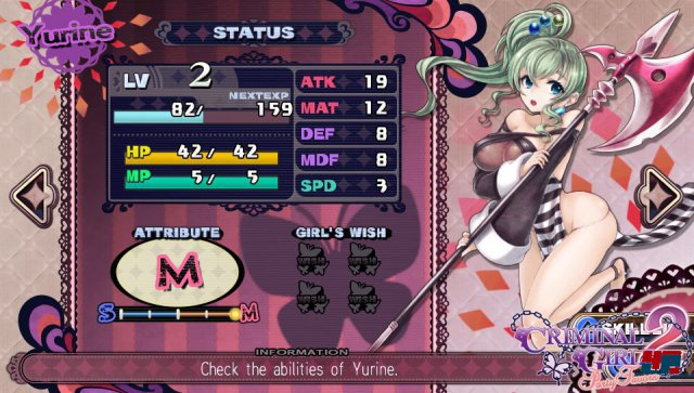 Screenshot - Criminal Girls 2: Party Favors (PS_Vita)