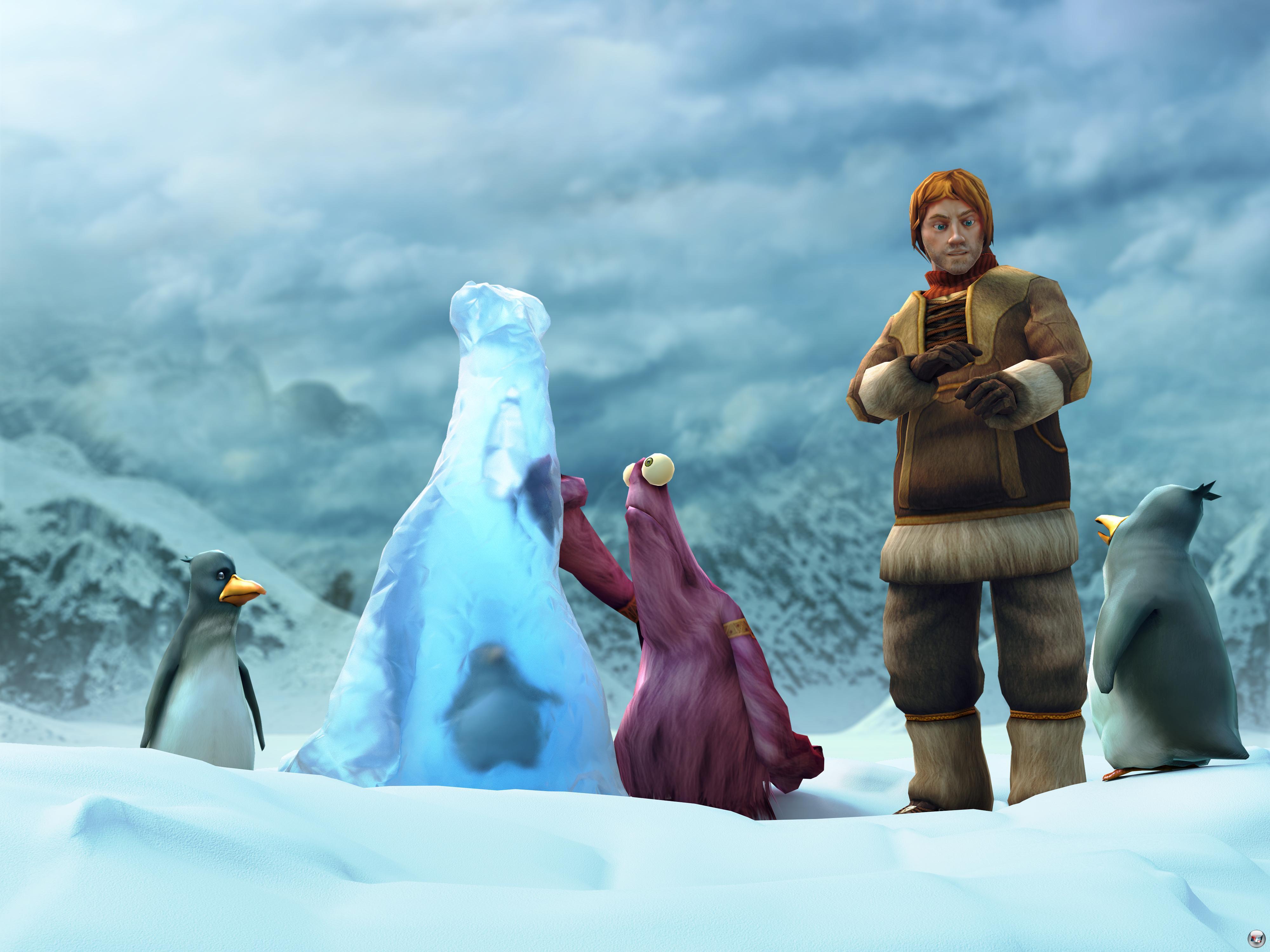 Fast wie Han & Chewie: In den kalten Nordlanden lernt Abenteurer Nate seinen pelzigen Freund kennen.