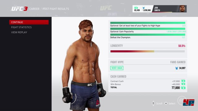 Screenshot - EA Sports UFC 3 (PS4)