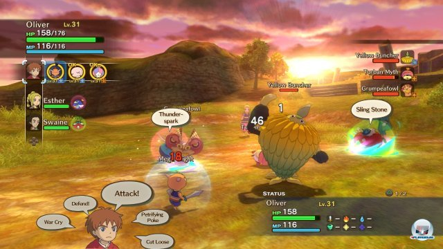 Screenshot - Ni No Kuni: Wrath of the White Witch (PlayStation3) 2361797