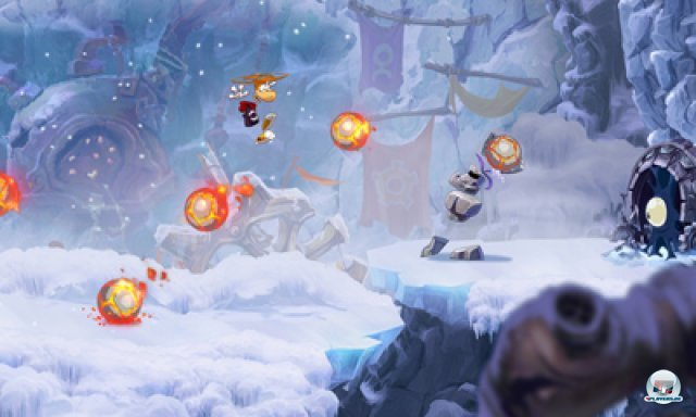 Screenshot - Rayman Origins (3DS) 2367162