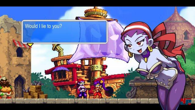 Verkehrte Welt: Der Vorgänger auf dem DS besaß räumliche Hintergründe, zwischen denen man mit Portalen wechseln konnte. Im aktuellen Teil gibt es trotz 3D-Bildschirm nur flache Welten mit einer Ebene.