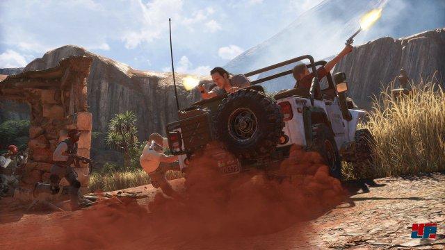 Naughty Dog bleibt seinem Ruf treu: Uncharted 4 sieht klasse aus.