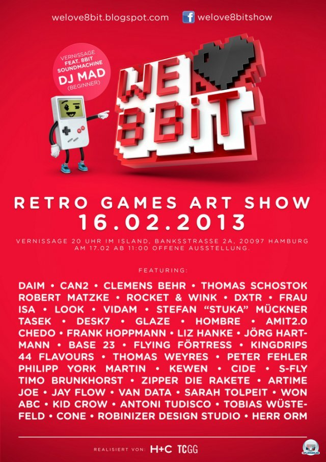 Screenshot - We Love 8Bit - Retro Games Art Show (PC) 92442657