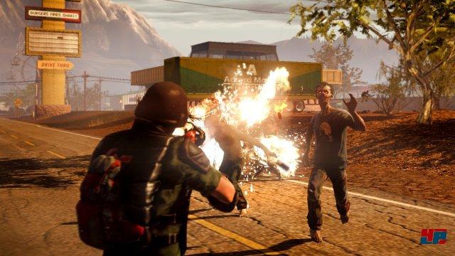 Neben zusätzlichen Waffenmodifikationen kann neuerdings auch spezielle Brandmunition im Kampf gegen die Zombiehorden eingesetzt werden.
