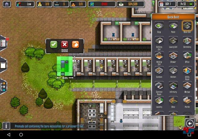 Paradox verspricht, dass die Komplexität der mobilen Gefängnissimulation der PC-Version in Nichts nachstehen wird.