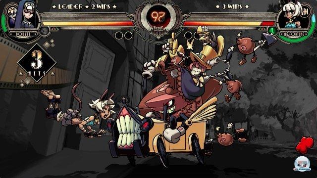 Das Design der Kämpferinnen ist zum Teil höchst abgefahren, die Technik allerdings makellos - hier gibt es 2D-Animation auf höchstem Niveau!