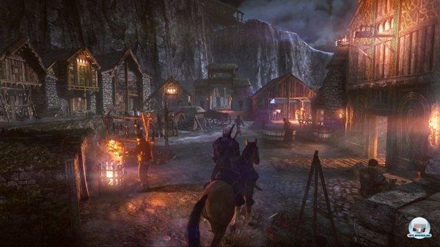 <b>The Witcher 3: Wild Hunt (2014)</b> <br><br> Mit dem Witcher stellte CD Project RED die Erzählung in den Vordergrund. Endlich wieder interessante Fantasy für Erwachsene - und das sogar in richtig hübschen, ursprünglich überwucherten Kulissen. Der dritte Teil schließt die Serie ab: Laut Adam Badowski soll man aufhören, wenn es am schönsten ist. Als Abschiedsgeschenk soll es aber eine 30 Mal umfangreichere Welt geben. Auf der Reise durch Novigrad, die Skellige-Inseln und das Niemandsland wird man sich nicht für eine Fraktion entscheiden müssen, ein Hexer handelt schließlich immer unabhängig. Das Spiel soll für PC, PS4 und Xbox 720 erscheinen. 92458999