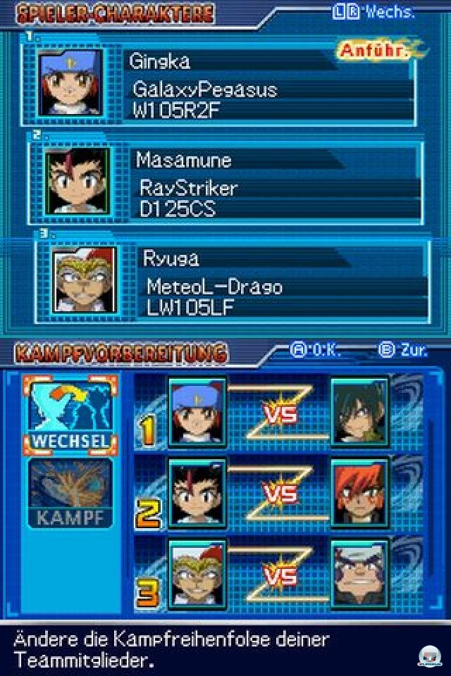 Screenshot - Beyblade: Metal Masters - Nightmare Rex (NDS)