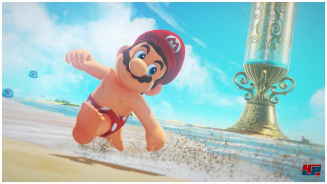 Stilsicher und nützlich: Manche Kostüme öffnen Mario im wahrsten Sinne des Wortes Türen.