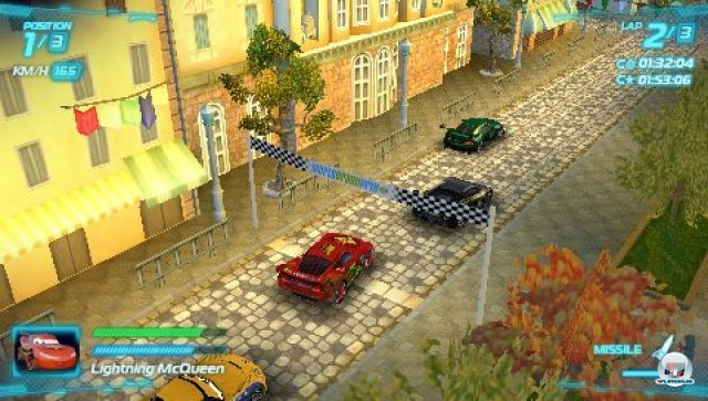 Screenshot - Cars 2: Das Videospiel (PSP) 2231607