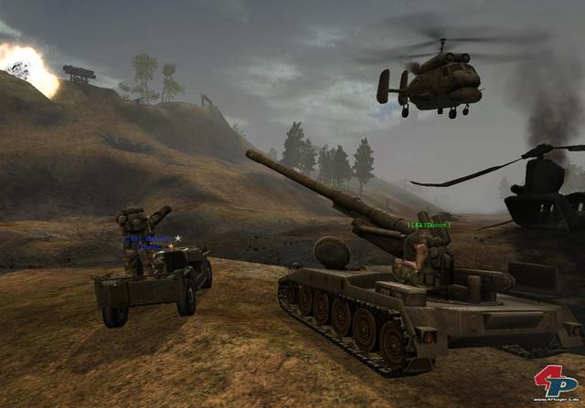 Battlefield Vietnam. Скриншоты.