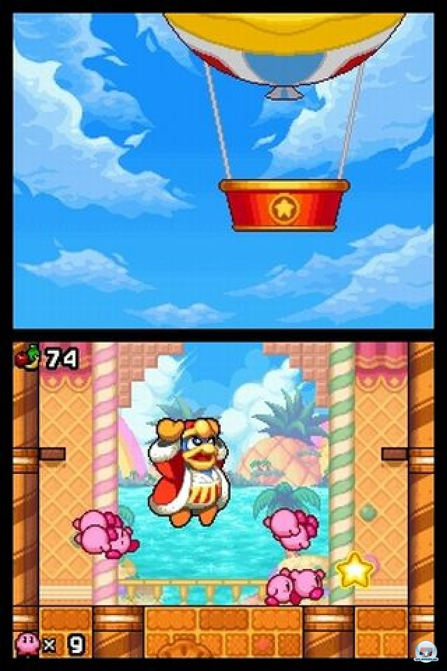 Screenshot - Kirby: Mass Attack (NDS) 2252062