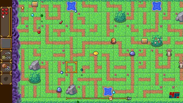 Ziel von SwapQuest ist es, wie im Puzzle-Klassiker PipeMania durch das Verschieben quadratischer Felder Verbindungen zu erschaffen, um ans Ziel zu gelangen.