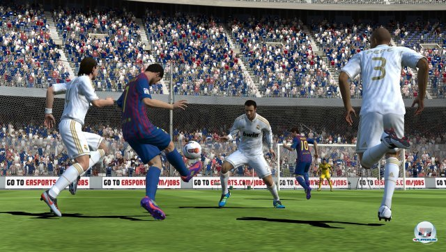 FIFA Football firmiert zwar unter anderem Namen, ist spielerisch aber eindeutig eine Variante von FIFA 12.
