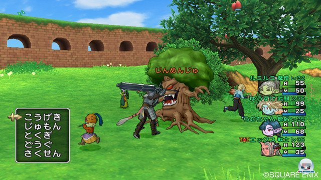 Screenshot - Dragon Quest X Online (Wii) 2368862