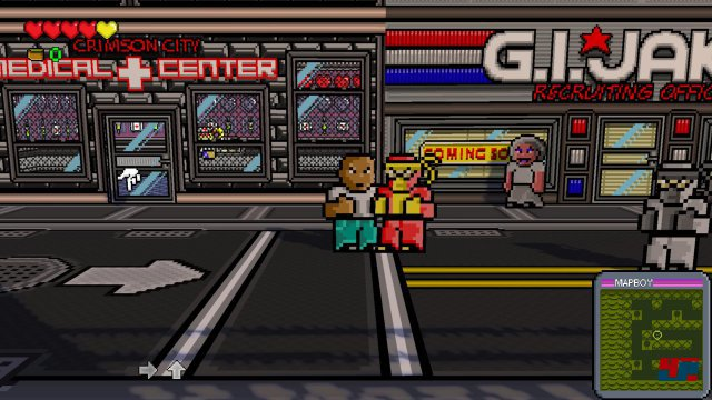 Screenshot - Radical Heroes: Crimson City Crisis (PC)
