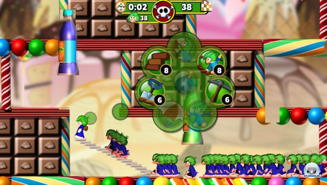 Screenshot - Lemmings Touch (PS_Vita)