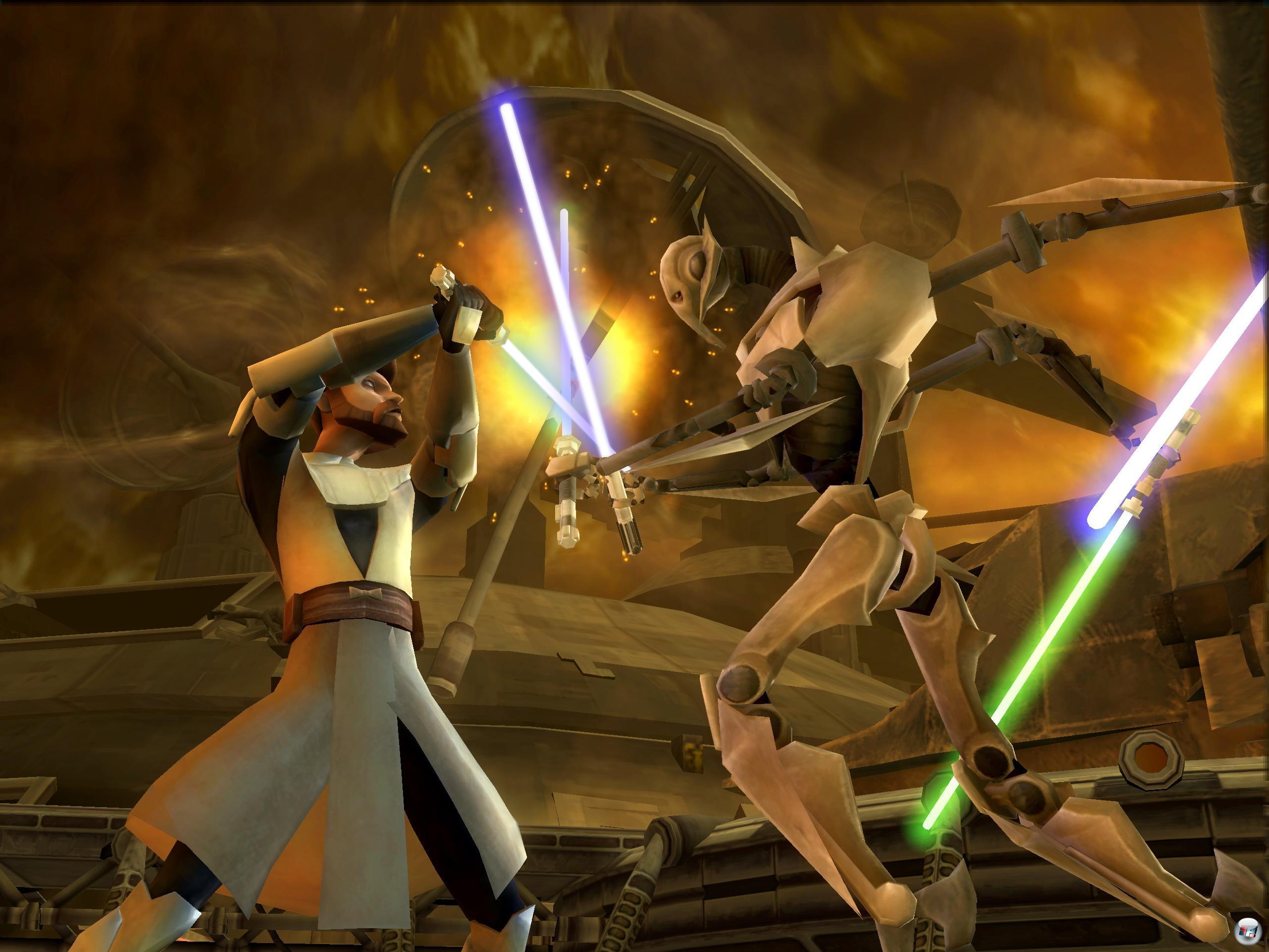 Star Wars Lightsaber Duels Game.