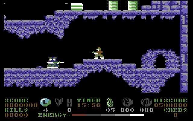 Combat Crazy (1988) <br><br> Combat Crazy ist eigentlich kein Teil von Bizarre Creations, sondern lediglich ein simpler 2D-Shooter, der 1988 für den C-64 veröffentlicht wurde. Da das Studio den Budget-Titel aber selbst in der Historie aufführt, tun wir das auch. Warum? Combat Crazy war das erste Spiel, das Martyn Chudley, einer der Mitbegründer von Bizarre Creations. Laut eigenen Angaben sollen von der Premiere etwa 1000 Exemplare verkauft worden sein. 2199342