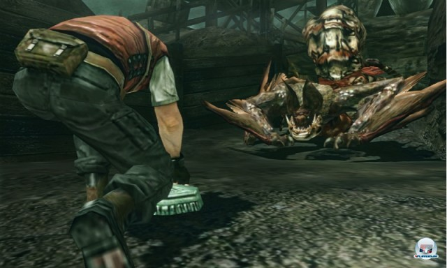 Screenshot - Resident Evil: The Mercenaries 3D (NDS) 2223783