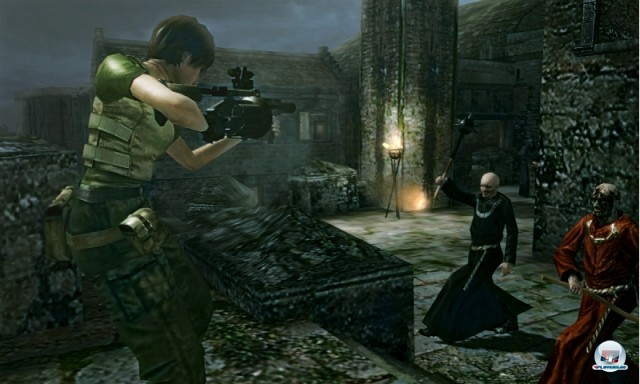 Screenshot - Resident Evil: The Mercenaries - 3D Edition (NDS) 2221688