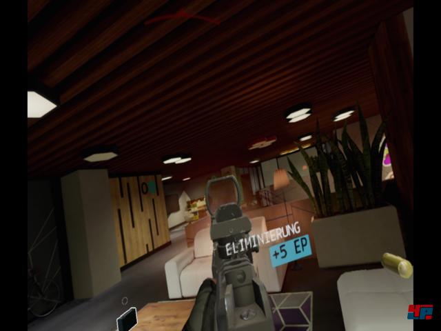 Für einen VR-Titel ist die Kulisse von Firewall Zero Hour hübsch, die Innenräume überzeugend!