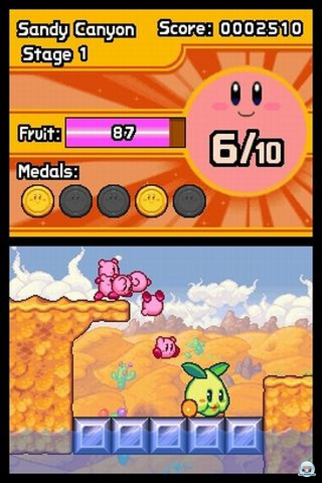 Screenshot - Kirby: Mass Attack (NDS) 2252087