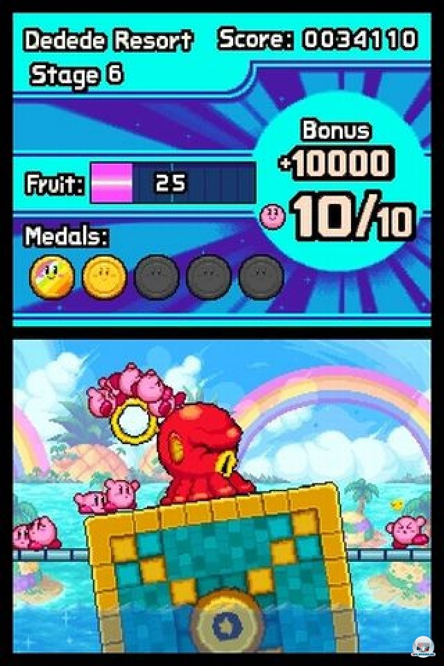 Screenshot - Kirby: Mass Attack (NDS) 2252032