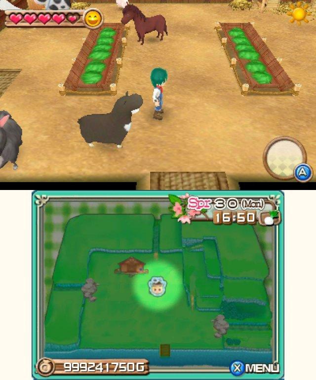 Harvest Moon 3D: A New Beginning (3DS): Test, News, Video