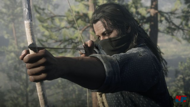 Auch mit dem Bogen könnt ihr jagen - dann ist die Beute wertvoller.